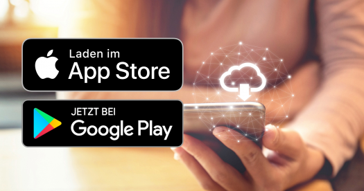 Mobile Campus App downloaden im App Store und bei Google Play